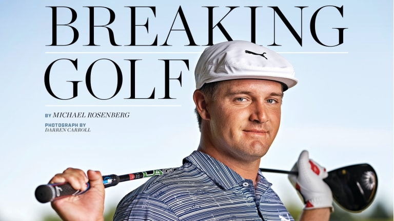 Bryson DeChambeau Lands First Sports Illustrated Cover