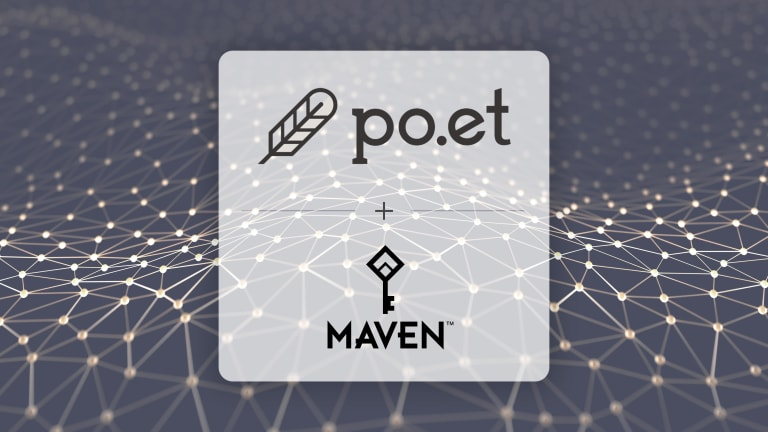 Maven Partners with Blockchain-Based Po.et to Empower Publishers